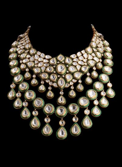 5 most beautiful forms of wedding jewellery Wedding Jewellery History jadau jadau is one of the major forms of jewellery which gives an example of high skilled craftsmanship; it was brought to india by mughals wedding jewellery history
