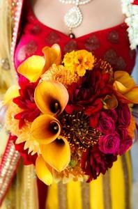 flowers in indian weddings