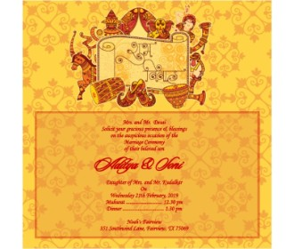 Sugh Vivah wedding e card