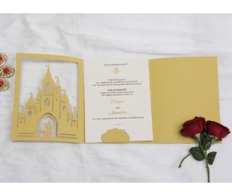 Beautiful Fairyland wedding Invite