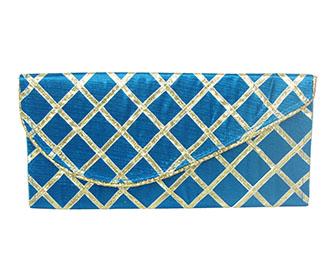 Blue Lace Envelope