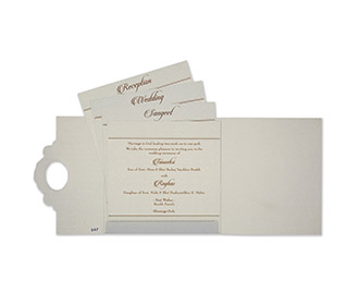 Designer sikh wedding card in powder blue and golden colour