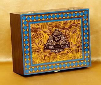 Designer wedding box ..
