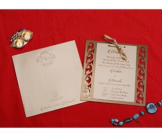 Designer wedding card..