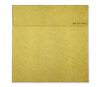 Floral laser cut wedding card in light golden in cardboard