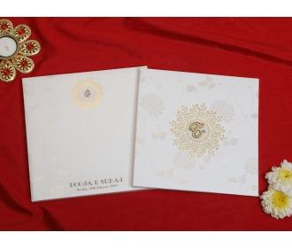 Ganesha cream floral