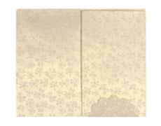 Ganesha Design Wedding Card with Shimmering Golden Colour