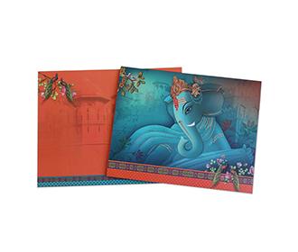 Ganesha theme hindu w