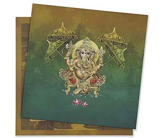 Ganesha theme hindu w..