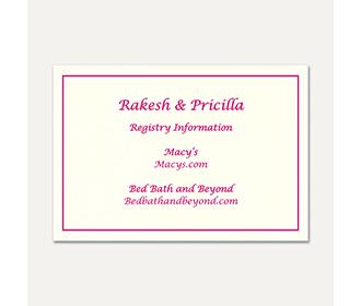 Gift Registry 18 -