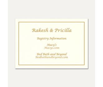 Gift Registry 30 -