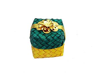 Green & Yellow Gift Box -