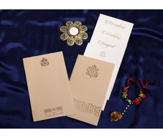Hindu Ganesha wedding invite