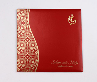 Hindu wedding invite
