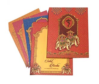 Indian wedding card i