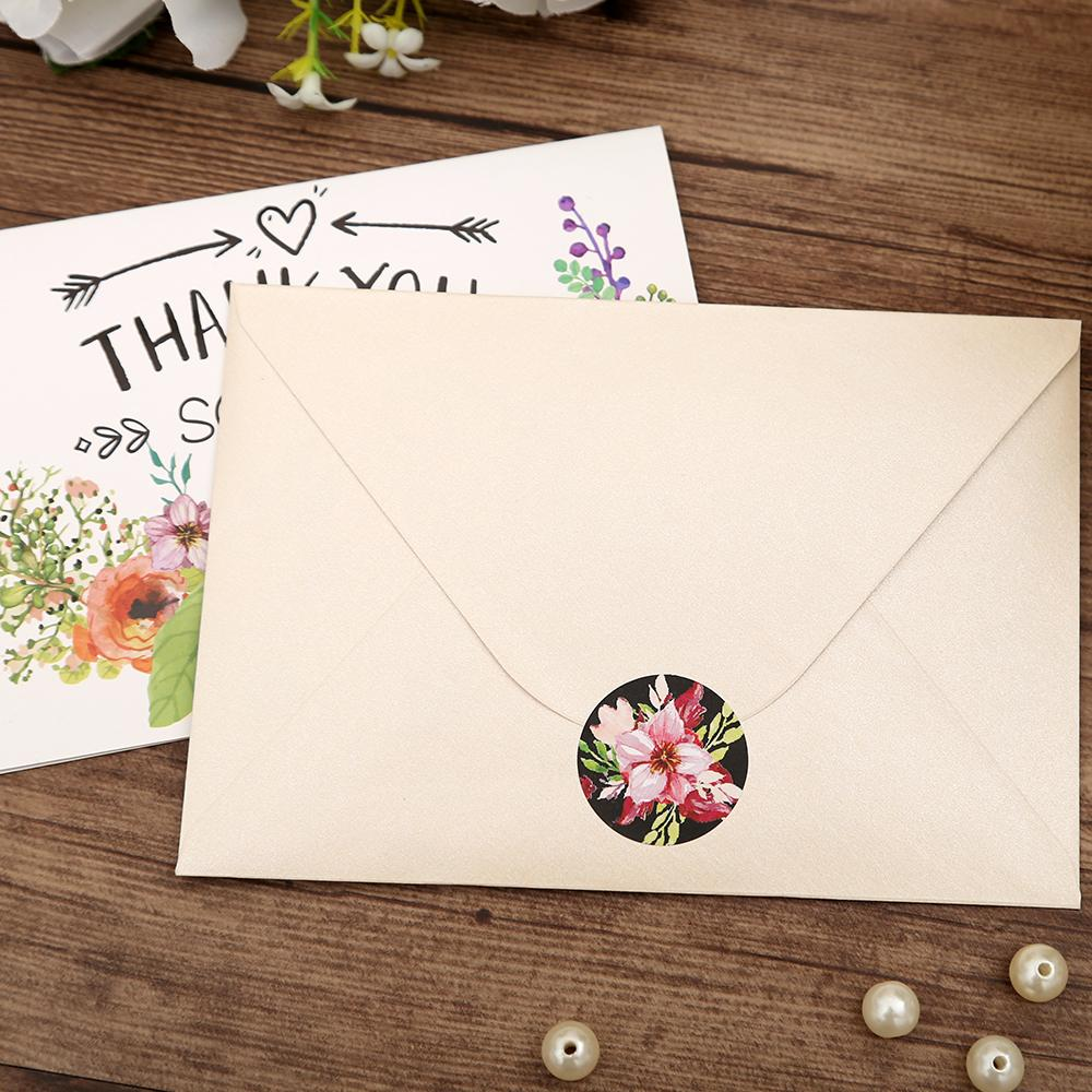 Beautiful colorful mixbag of thank you cards with envelopes - Click Image to Close