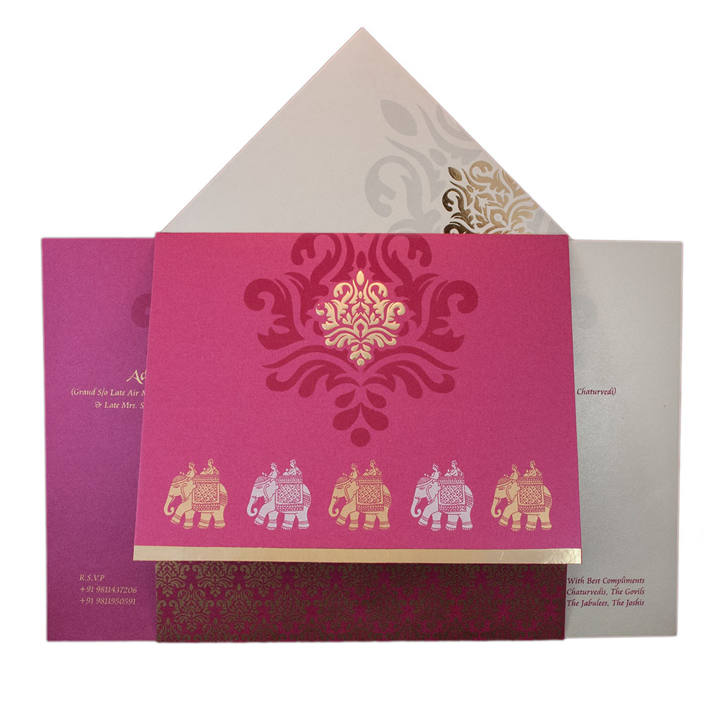 exquisite indian wedding card with - 28 images - how to prepare a ...