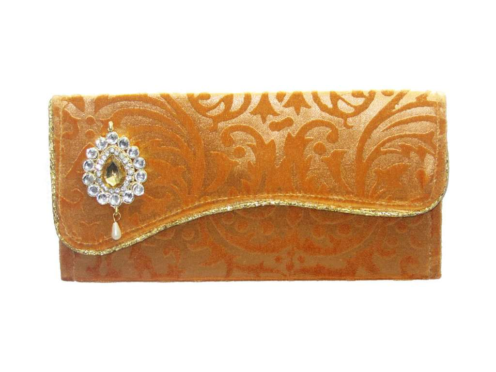 Fawn Self Velvet Envelope