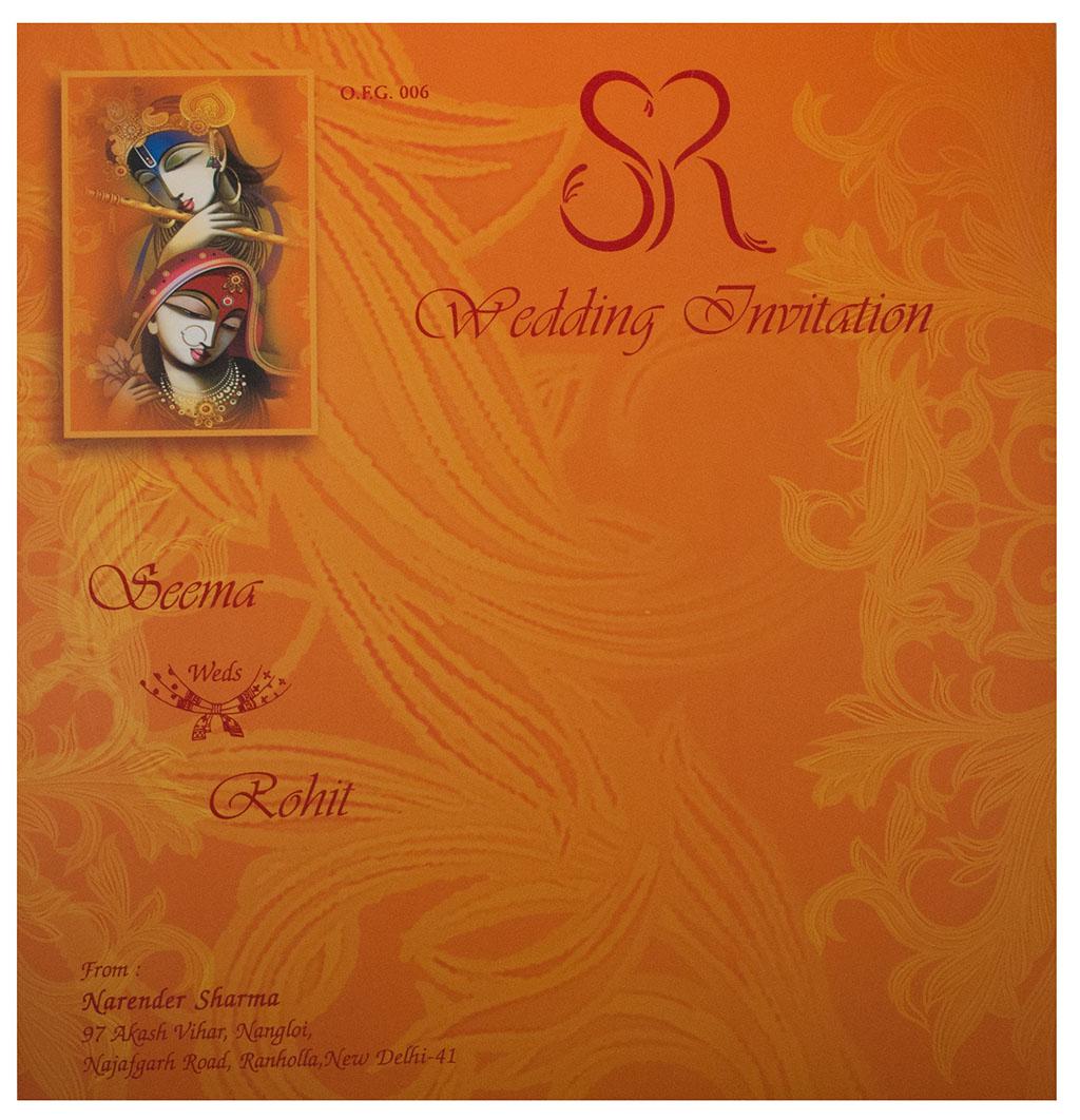 hindus wedding cards