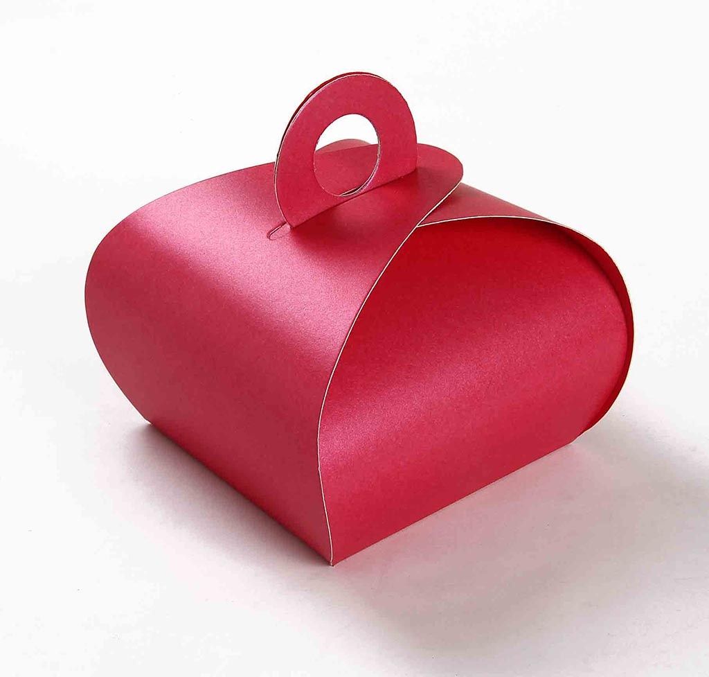 Indian Wedding Party Favor Box in Pink Color