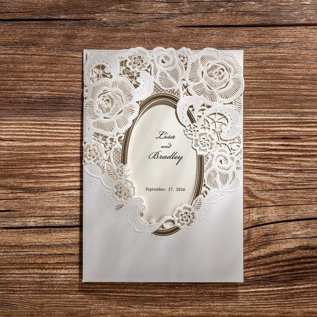 Laser Cut Style Party Bomboniere Wedding invitations