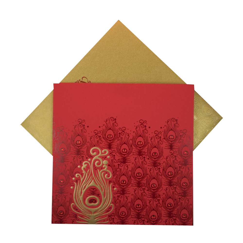 Hindu Wedding Card With Traditional God Images | Wedding Invitations ...