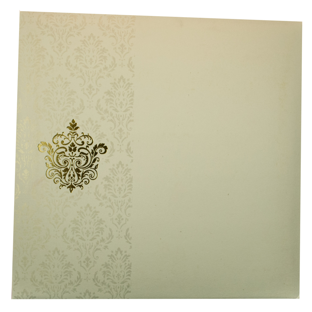 Wedding invitation card in ivory with ek onkar symbol sikh wedding invitation card in ivory with ek onkar symbol biocorpaavc Image collections