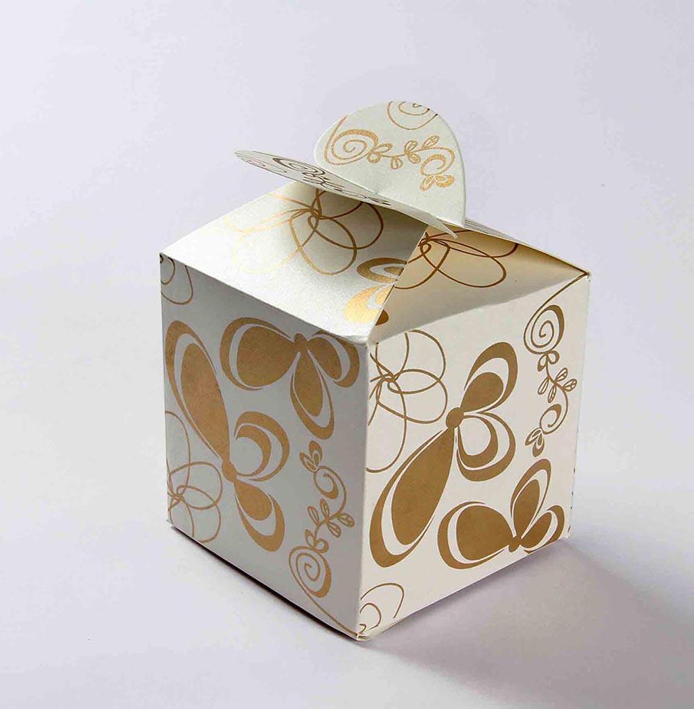 Rectangle Wedding Favor Boxes: Rectangular favor box fuchsia ...