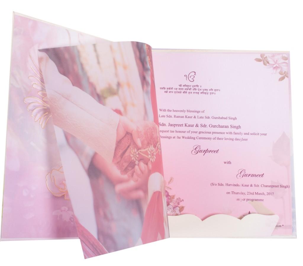 Jaspreet and jaspreet wedding invitations