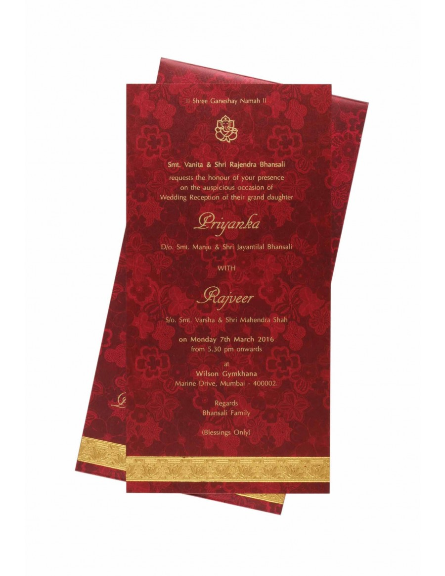 Famous Sample Wedding Reception Invitations Ideas - Invitations and ...