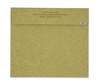 Marble print olive green muslim wedding invitation