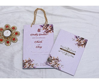 Mauve colour floral I