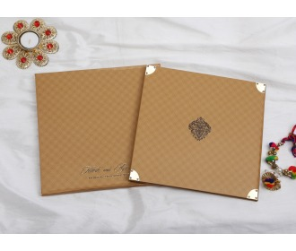 Multifaith wedding invite -