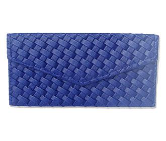 Navy Blue Leather Env