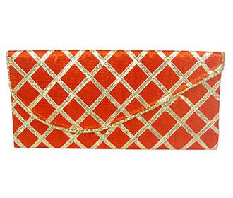 Orange Lace Envelope..