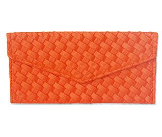 Orange Leather Envelo