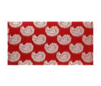 Paisley Wedding Shagun Envelope in Rich Red And Golden -