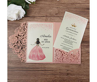 Pink paper Wedding in