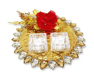 Ring Platter in Golde