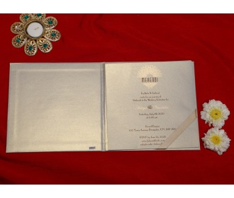 Royal Golden wedding invite
