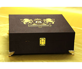 Royal wedding box inv