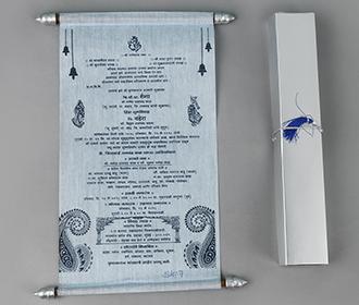 Scroll style wedding ..