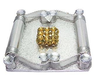 Silver & gold Stone R