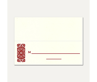 Table Cards 182