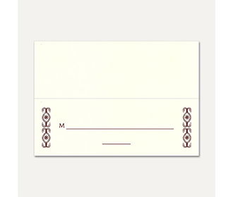 Table Cards 203