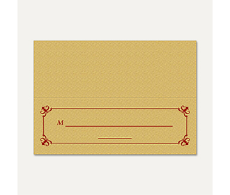 Table Cards 267