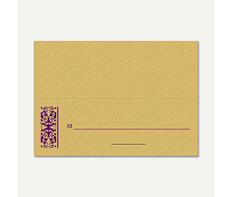 Table Cards 268 -