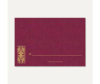 Table Cards 272 -