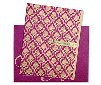 Buy Paisley Design Wedding Invitations Cards online Hitched Forever
