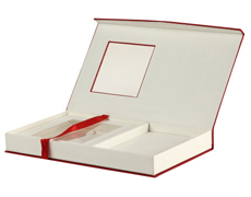Wedding Card Box in Exclusive Red & Golden Color